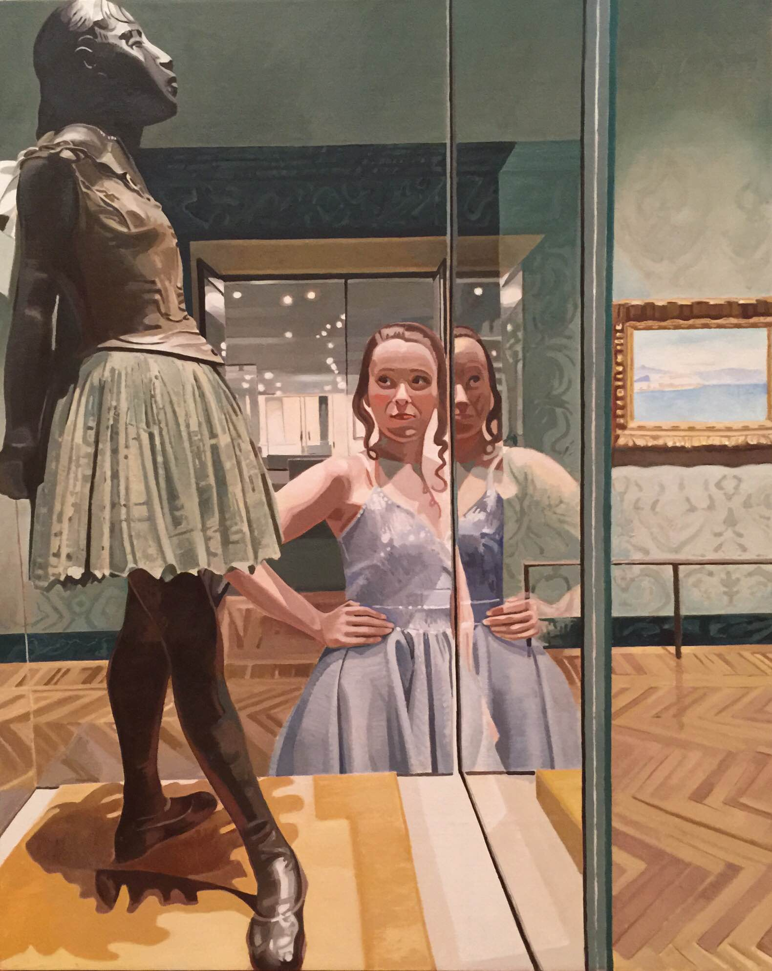 Day with Degas, 2016 Exhibit of AD20/21